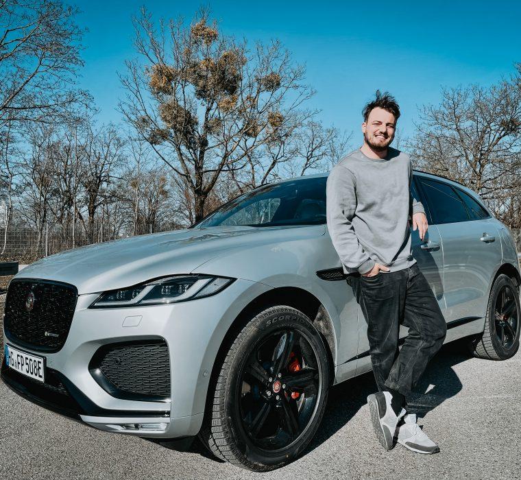 Jaguar F-Pace Jan Weizenecker